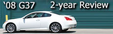 2008 Infiniti Coupe 2 year review